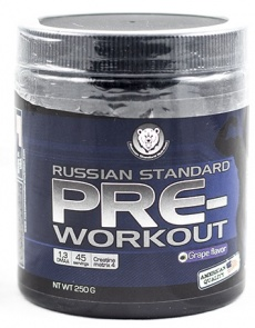Russian performance standard Pre Workout