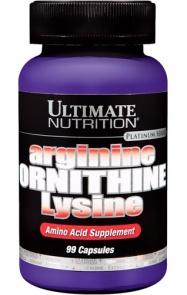 Tri-Amino L-Arginin, L-Ornitin, L-Lizin aminosavak - kaps